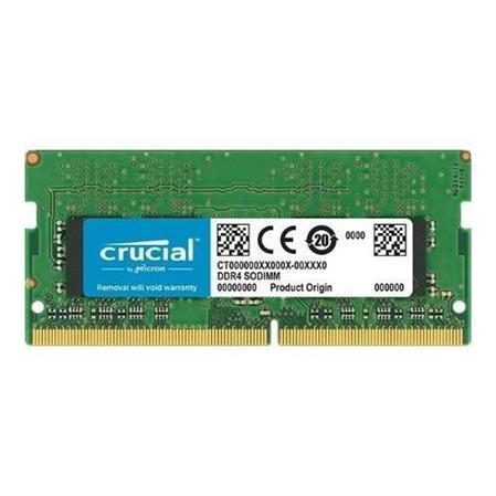 MEMORIA SODIMM DDR4 4GB 2400 CRUCIALMEMORIA SODIMM DDR4 4GB 2400 CRUCIAL