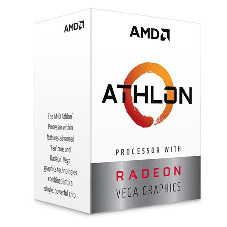 MICRO AMD ATHLON 3000GE 3.5GHZ AM4 C/RADEON VEGA 3