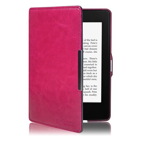 FUNDA EREADER KINDLE PAPERWHITE SWEES FUCSIA MAGNETIZADA