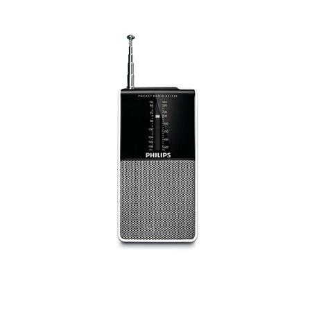 RADIO PORTATIL PHILIPS AE1530 A PILAS AM/FMRADIO PORTATIL PHILIPS AE1530 A PILAS AM/FM