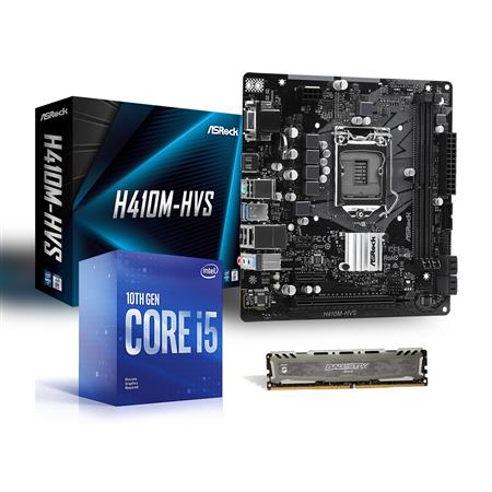KIT ACTUALIZACION DE EQUIPO GAMER I5 10MA / MOTHER H410M / MEMORIA DDR4 16GB