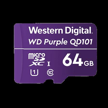 TARJETA DE MEMORIA MICROSD 64GB WESTERN DIGITAL PURPLETARJETA DE MEMORIA MICROSD 64GB WESTERN DIGITAL...