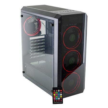GABINETE ATX AUREOX HYDRA ARX 330G GAMER RGB CON VENTANA BLACKGABINETE ATX AUREOX HYDRA ARX 330G GAMER...