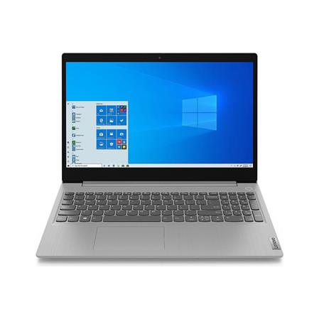 "NOTEBOOK 15"" LENOVO IDEAPAD 3 i5-1035G4 4GB SSD 256GB HD WIN 10 PLATINUM GREY"