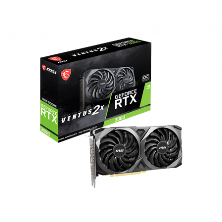 PLACA DE VIDEO GF MSI RTX 3060 VENTUS 2X OC 12GB GDDR6 192BIT PCIE 4.0PLACA DE VIDEO GF MSI RTX 3060 VENTUS 2X...