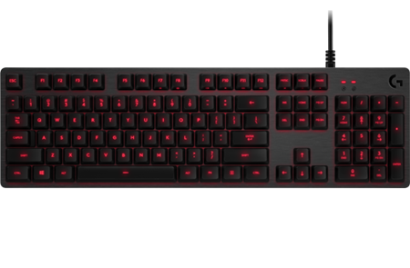 TECLADO LOGITECH G413 CARBON MECHANICAL GAMING WITH USB PASS-THROUGH